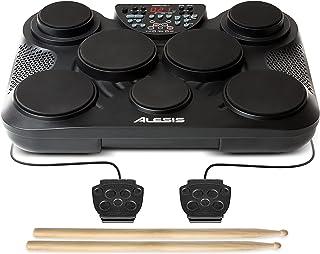 Alesis Compact Kit 7 – Batterie Électronique Portable avec 7 Pads Sensibles au Toucher, 265 Sons de Percussions, Sortie US...