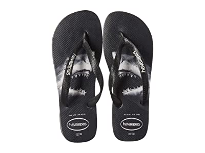Havaianas Top Photoprint Sandal (Black/Grey) Men