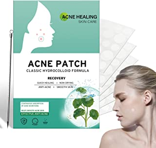 216 PCS Puistje gips met acne naald, Onzichtbare Hydrocolloïde Absorberende Acne Patch, Hydrocolloïde Acne Gips absorbeert...