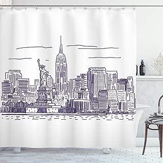 nyc skyline simple