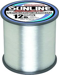 Sunline 63035884 Super Fluorocarbon 12 Lb. Super Fluorocarbon, Clear, 660 yd