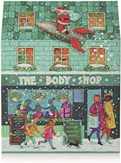 The Body Shop Ultimate advent calendar, 25pc gift set of 100% vegetarian skincare, body care, and makeup treats