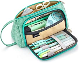 EASTHILL Large Capacity Pencil Case Pen Bag Pouch Holder Multi-slot School Supplies For Middle High School Office College ...
