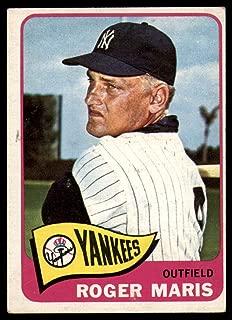 Baseball MLB 1965 Topps #155 Roger Maris Excellent Yankees