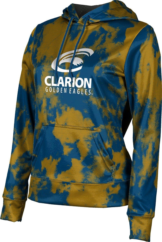 ProSphere Clarion University Girls' Pullover Hoodie, School Spirit Sweatshirt (Grunge)