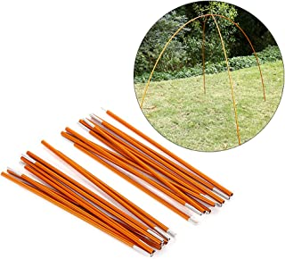 Yosoo Outdoor Tent Pole Rod,2 PCS Aluminium Alloy Tent Bar Rod Pole Tent Accessories Tent Building Supporting Rod Pole Awning Frames Kit for Hiking Camping