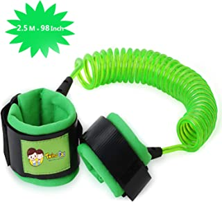 Toddler Leash Anti Lost Wrist Link, Child Leash Child Harness for Baby & Kid, 8.2ft(Green)