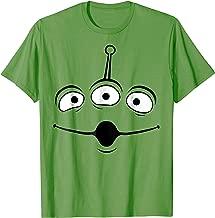 Disney Pixar Toy Story Alien Face Halloween Graphic T-Shirt