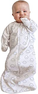 Cotton All in One Swaddle Bag 3-9 Months Clouds