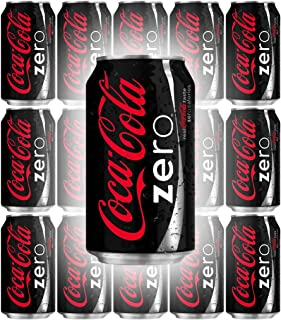 Coke-Zero, 12 oz Cans (Pack of 15, Total of 180 Fl Oz)