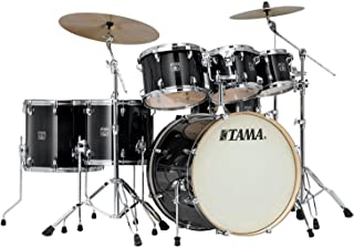 Tama Superstar Classic 7-Piece Shell Pack - Transparent Black Burst Lacquer