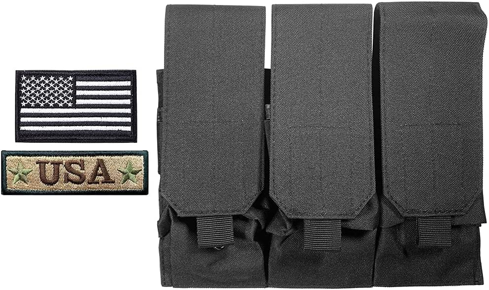 Antrix Tactical Purchase Triple New product!! Molle Rifle Magazine Milit Pouch Holster