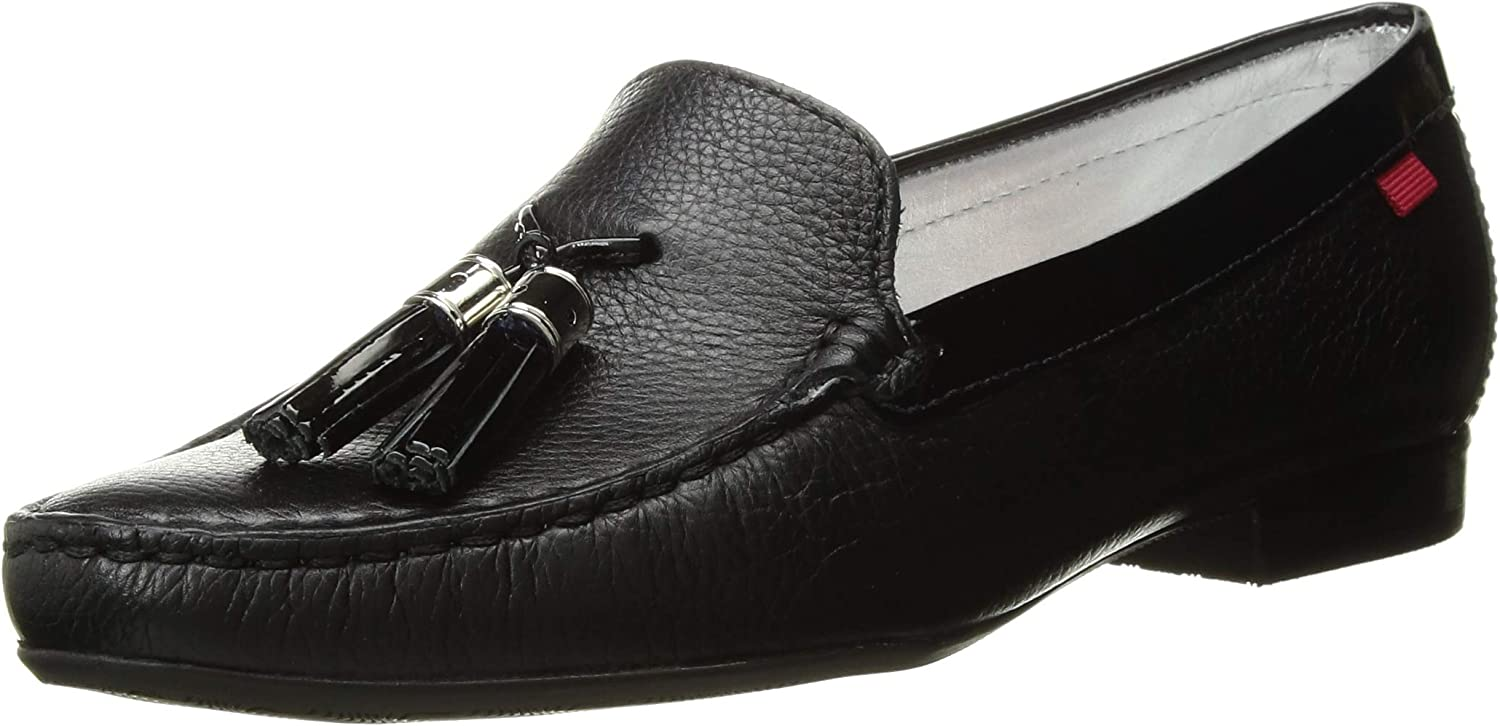 MARC JOSEPH NEW YORK Womens Leather Made in Brazil Wall Street Loafer Driving Style