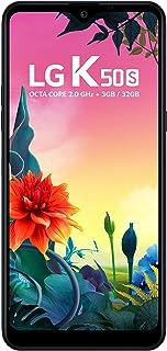 """Smartphone LG K50S Preto 32GB, Tela 6,5"""" Narrow Notch HD+ FullVision, Inteligência Artificial, Câmera Tripla, Selfie de 13..."""