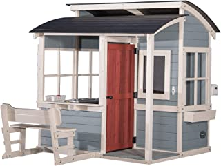 Backyard Discovery Breezy Point Wooden Playhouse