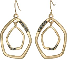 Pave Orbit Earrings
