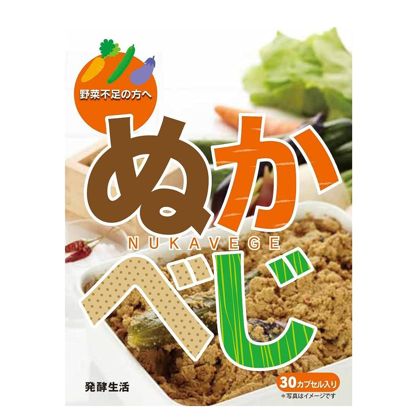 冷ややかなありがたいファッション発酵生活 ぬかべじ (約30日分) ダイエット 酵素サプリ 野菜酵素配合