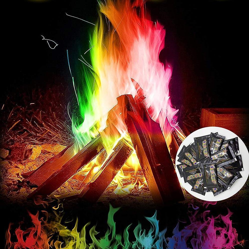 はさみかんたん楽なBesline 魔法の粉 炎の色が変わる! 焚火グッズ 焚き火 焚火台 バーベキューコンロ ファイア グリル ファイアスタンド 薪暖炉 薪ストーブ アウトドア キャンプ
