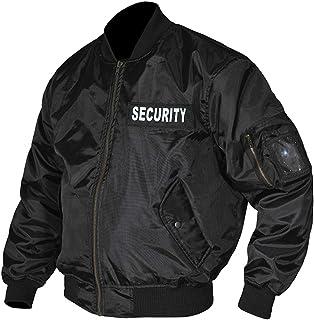RAC3 Mens Collectables Memorabilia Security Doorman Harrington Bomber Jacket