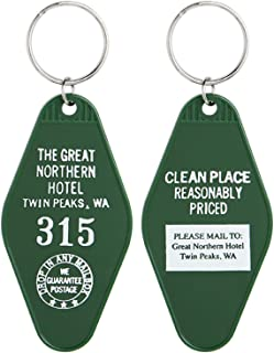 Official Twin Peaks The Great Northern Hotel Room #315 Key Tag