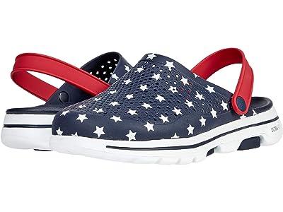 SKECHERS Cali Gear Go Walk 5 Stars and Stripes
