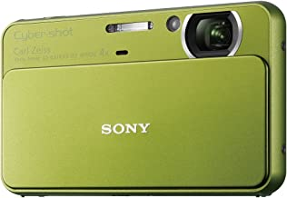 Sony T Series DSC-T99/G 14.1 Megapixel DSC Camera with Super HAD CCD Image Sensor (Green)