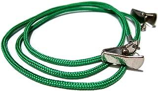 ATLanyards Green Paracord Clip Eyeglass Holder, SELECT YOUR SIZE, Non Slip Eyeglass Cord, 357