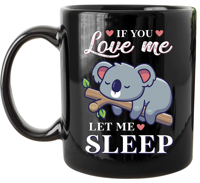 Chicago Mall Girls Sleeping Koala Coffee Mug Animal Bear Excellent Cute Kids