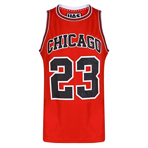97a59052207dba Mens Chicago Basketball Jersey Gym Vest Sports Top UrbanAllStars Sleeveless  Tee