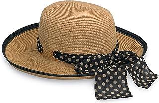 Wallaroo Hat Company Women's Julia Sun Hat – UPF 50+, Wide Brim, Lightweight, Packable, Designed in Australia.