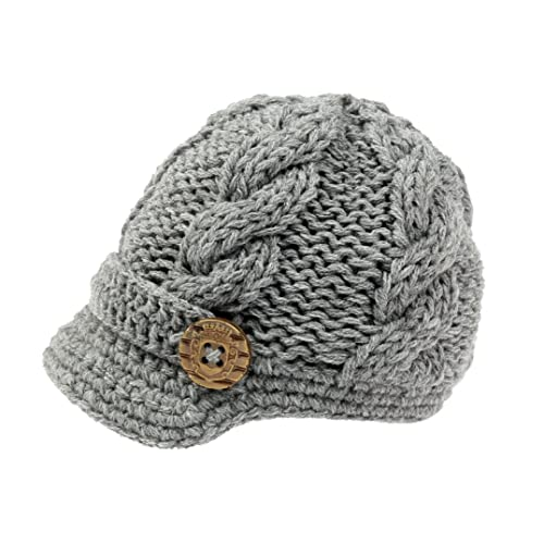 zefen Baby Boys Crochet Knit Newsboy cap Photography Brim Buttons Hat 8f962e5819c7