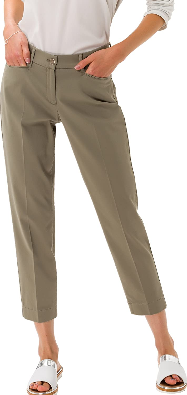 Brax - 78-1557 - Pantalon - Femme Vert (Khaki )
