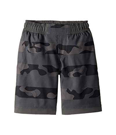 Columbia Kids Sandy Shorestm Boardshorts (Little Kids/Big Kids) (Grill Camo Stripe/Grill) Boy