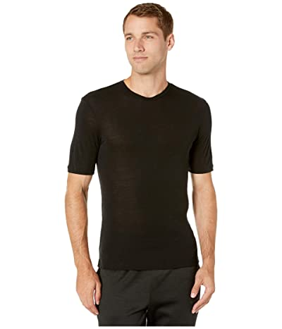 Icebreaker 175 Everyday Merino Base Layer Short Sleeve Crewe (Black) Men