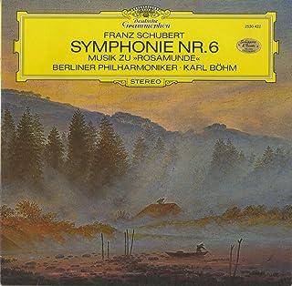 シューベルト:交響曲6番,「ロザムンデ」~序曲,バレエ音楽1,2番