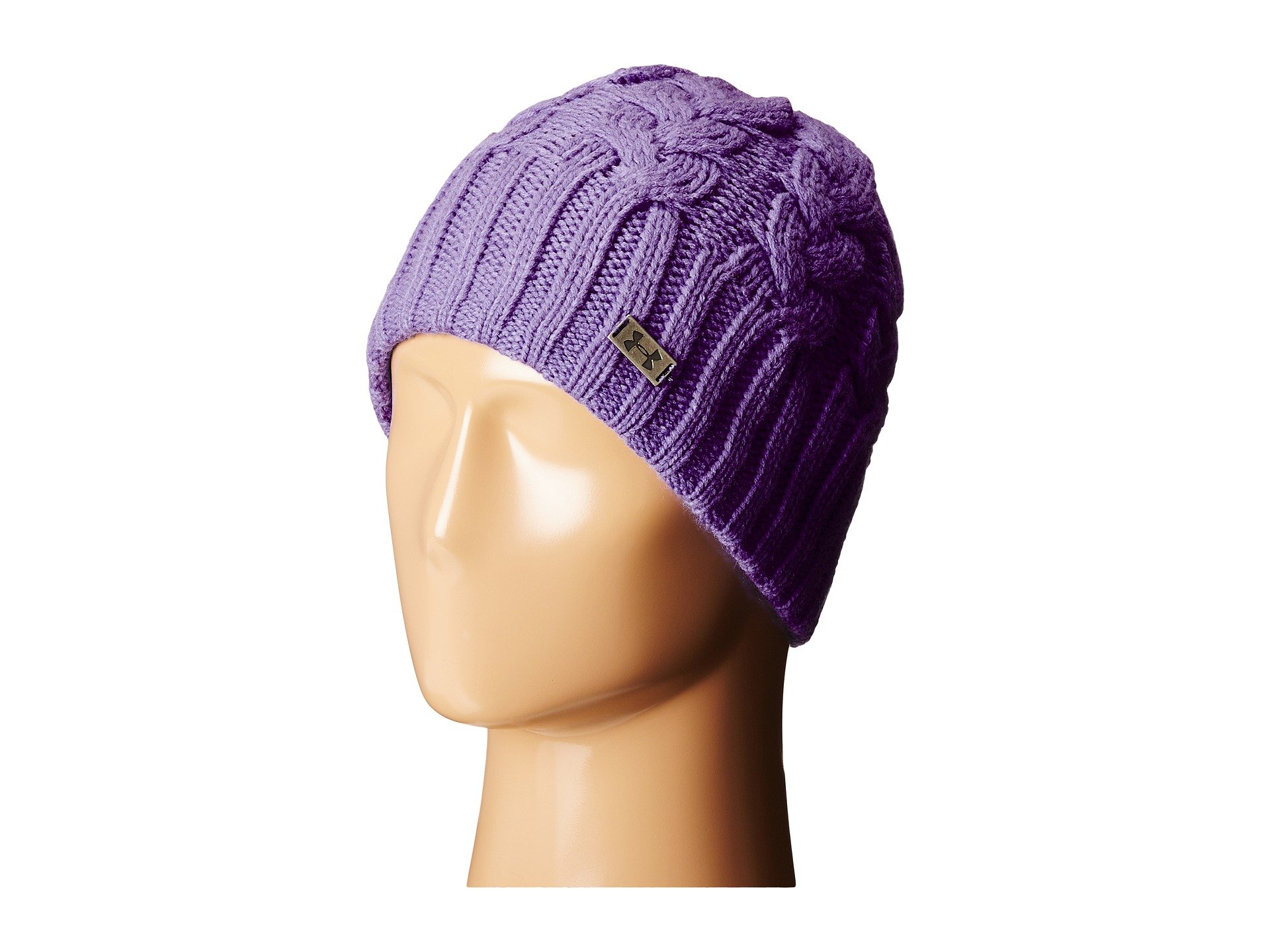 7dadef6d2a390 Under Armour Ua Around Town Beanie In Violet Storm Steel ...