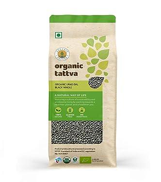 Organic Tattva Urad Dal Black Whole, 500g
