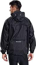 Baleaf Men's Rain Jacket Cycling Running Packable Outdoor Waterproof Hooded Pullover Raincoat Poncho Windbreaker