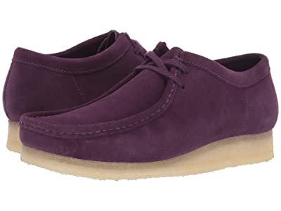 Clarks Wallabee Boot (Deep Purple Suede) Men