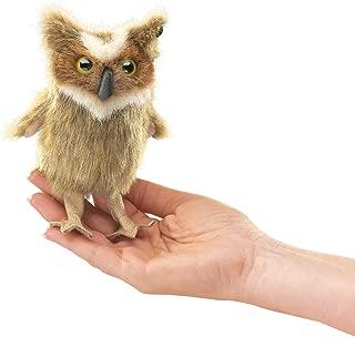 Folkmanis Mini Great Horned Owl Finger Puppet