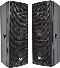 Seismic Audio - Magma-212-PW-Pair - Pair of Premium Active Dual 12