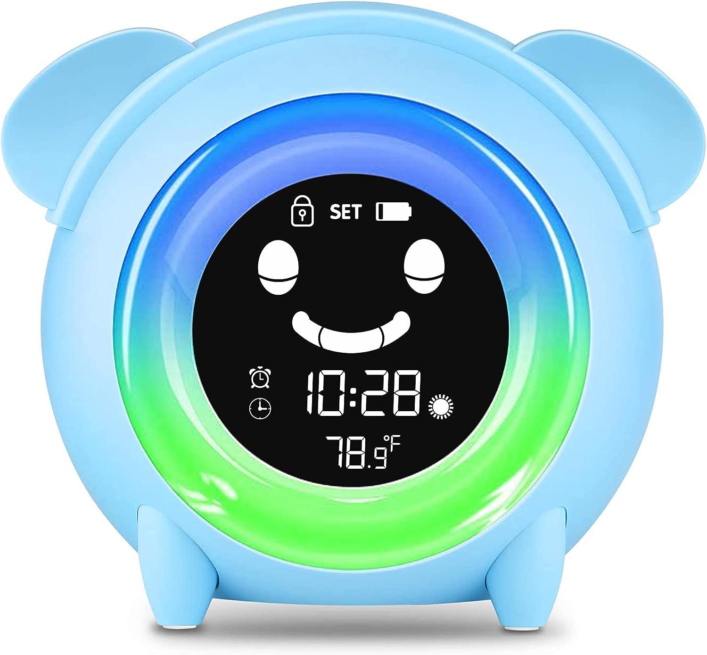 Kids Digital Alarm Clock Toddler Children's Branded goods Sleep Popular overseas