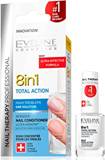 Eveline Nail Therapy 8 in 1 Total Action Intensive Nail Conditioner