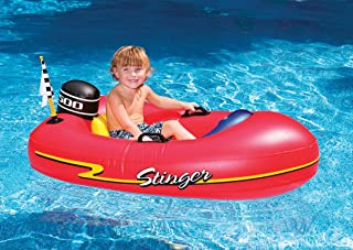 Best Swimline Speedboat Inflatable Kids Float, Red Review