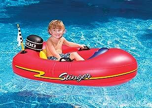 Swimline Speedboat Inflatable Kids Float, Red