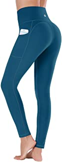 Ewedoos Leggings mit Handytasche Sporthose Damen High Waist Sport Leggings Yogahose Damen Blickdicht Laufhose