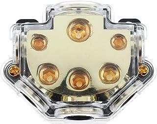 figatia Bloco de Distribuição para Porta-fusíveis de áudio Automotivo 1 em 5 Protetor de Circuito de Saída