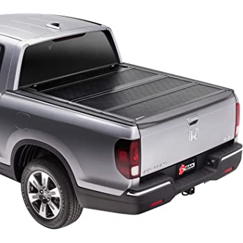 Amazon Com Rugged Liner E Series Hard Folding Truck Bed Tonneau Cover Eh Hrl05 Fits 2005 2016 Honda Ridgeline 5 0 Bed 60 Automotive
