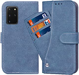 Galaxy S20 Ultra Wallet Case,Luxury Leather Phone Cases with Credit Card Holder Slim Kickstand Stand Shockproof Rugged Fli...