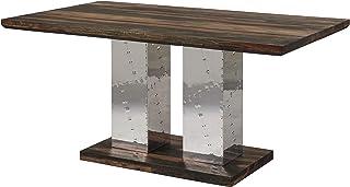 Table à manger 200x100cm - Bois massif de palissandre huilé - TAMBORA #422